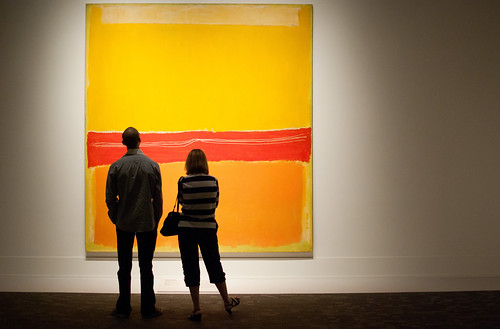 Art by Rothko; composition inspired by Carolyn by PJMixer