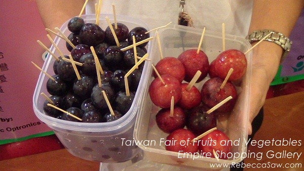 Taiwan Fair of Fruits and Vegetables, Empire Shopping Gallery-06