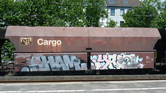 Graffiti in Kln/Cologne 2011 (kami68k []) Tags: train graffiti cologne kln chrome illegal freight inc bombing ddb sham atb 2011 dbcargo yalt bsv 80countrycode