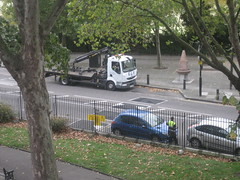 LBTH Car removal team in Stepney Green (Carol B London) Tags: e1 elv stepney clampers clamping londone1 towerhamlets stepneygreen lbth vehicleremoval carclampers