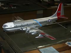 C-97 (Proplinerman) Tags: model montana aircraft missoula boeing usaf airliner c97 stratotanker propliner aircraftmodel kc97l pistonliner c97l