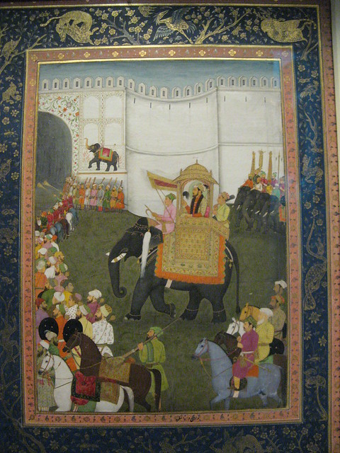 Dara Shikoh Entering Lahore Fort, Pergamon Museum, Berlin