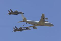 Trio (Alvaro Aviation) Tags: israel aviation camo planes boeing tanker raam militaryaviation 275 openday reem refuelling iaf israelairforce indepenceday ramatdavid ef300mmf28lisusm llrd 120sqn canon5dmarkii kc707 ef14xextenderiii f15ieagle ramatdavidiafb cn21334923