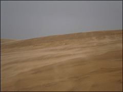 Te Paki Dunes under the rain and the wind !