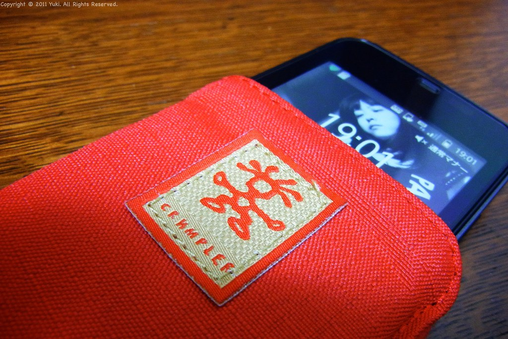 Crumpler Smart Phone Case Front