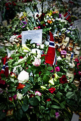Rose ceremony Oslo (Maríon) Tags: flowers roses rose oslo norway massacre ceremony terror supermarion marionnesje oslove