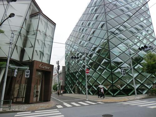 Prada & Cartier shop @ 表参道