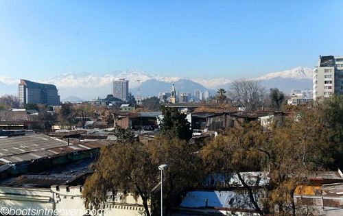 Santiago's mountains