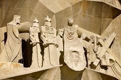 Sagrada Famlia (tm-tm) Tags: barcelona espaa church spain europe catholic cathedral basilica catalonia unesco catalunya sagradafamilia espana gaudi osm:way=132549644