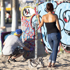 Love is Patient (johnwilliamsphd) Tags: california street venice portrait beach canon eos la losangeles tour williams zoom c safari 5d westside dslr 70200 onlocation mkii williams john lainc johncwilliams johnwilliamsphd phd losangelesconventionandvisitorsbureau canon5dvenice