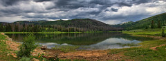 Rolfson Reservoir (cll) Tags: county panorama huntington stormy canyon reservoir memory hdr emery in byran of rolfson