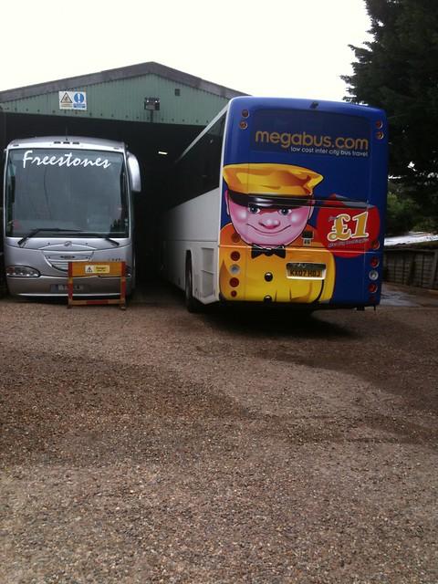 Megabus rear