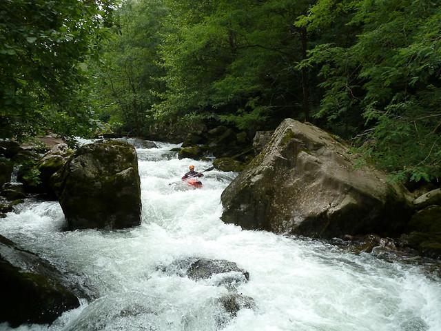 Río Leitzaran en Verano