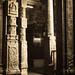 Engraved pillars