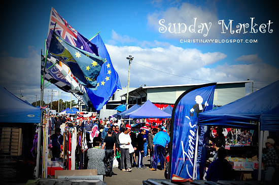 Sunday Market at Toowoomba PCYC