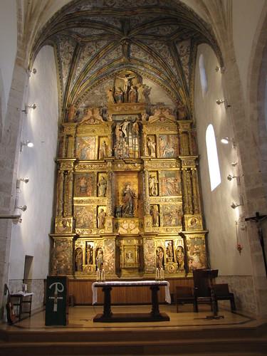 Iglesia de San Juan Evangelista - Retablo mayor