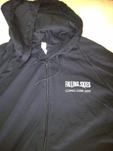 front of Falling Skies hoodie
