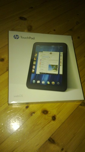 touchpad webos