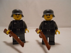 Rifleman (THEBrickTrooper) Tags: lego german ww2 americans minifig axis allies brickarms mmcb
