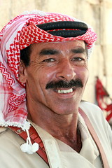 Jordanian Smile (Alan1954) Tags: portrait holiday man male smile asia character middleeast jordan arab jerash 2010