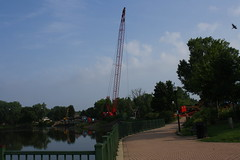 Big Crane at Dam