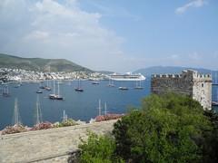 Port of Bodrum from the Castle of St. Peter, Bodrum (David J. Lull) Tags: turkey bodrum castleofstpeter halicarnassus