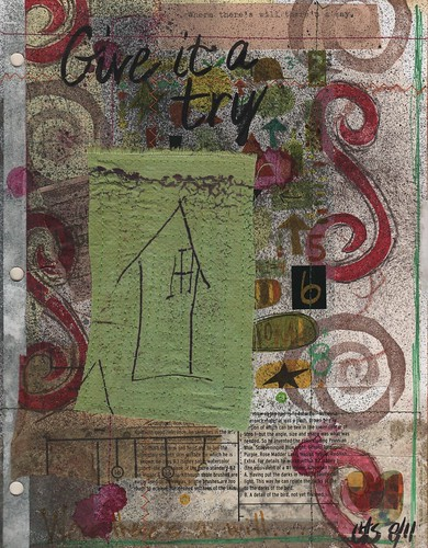 TRY Art Journal Page by taylor_maide