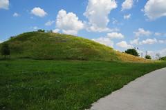 Thracian Tomb Mound (DSLEWIS) Tags: ancient tomb royal unesco bulgaria tombs mounds thrace thracian sveshtari sboryanovo