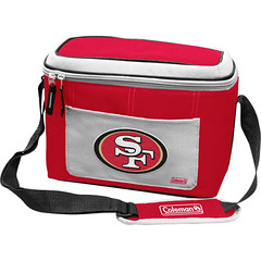 San Francisco 49ers Coleman 12 Pack/Can Cooler Bag