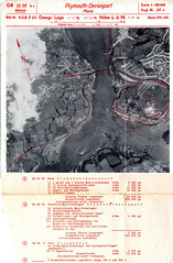 Devonport Map (Photo) (Plymouth History) Tags: cornwall map aircraft nazi plymouth aerial devon photograph german target bomb blitz bombing reich devonport secondworldwar stonehouse luftwaffe plymstock saltash torpoint