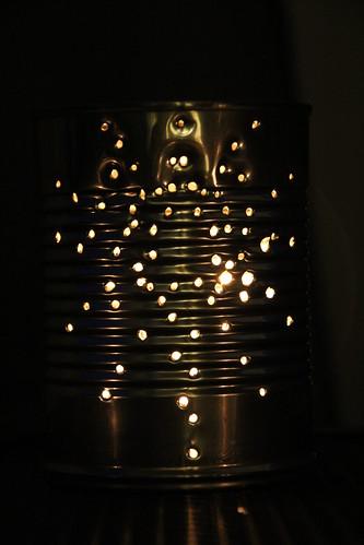Star tin lantern