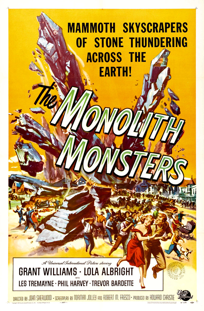 Reynold Brown - The Monolith Monsters (Universal International, 1957)