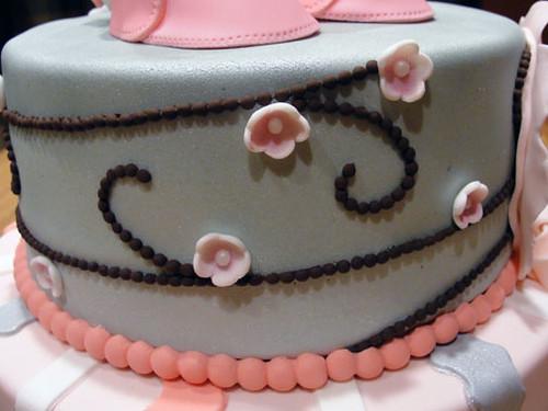of cherry blossom cakes