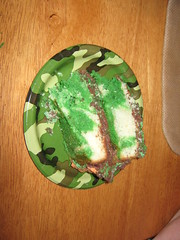 Nathan's Birthday Cake slice
