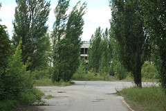Pripyat (tik_tok) Tags: old travel abandoned danger europe russia accident empty 4 explosion radiation nuclear ukraine disaster sarcophagus ghosttown radioactive powerplant derelict easterneurope decaying reactor chernobyl oblast pripyat