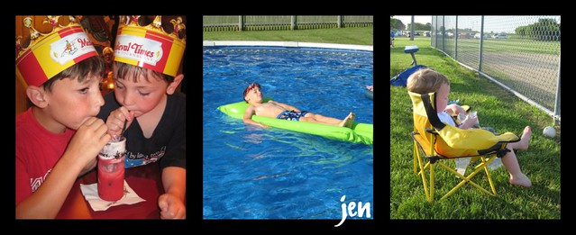 Jen, Vacation