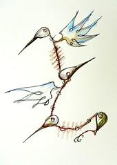 algarAVE - um s trao e muitos pontinhos (Glaucus Noia) Tags: art illustration arte drawing estudio draw dibujo ilustrao noia desenho ilustracin glaucus surrealismo bahi xicara pontilismo