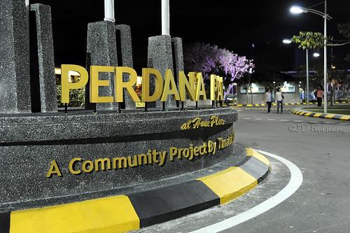 Perdana Park SignName800