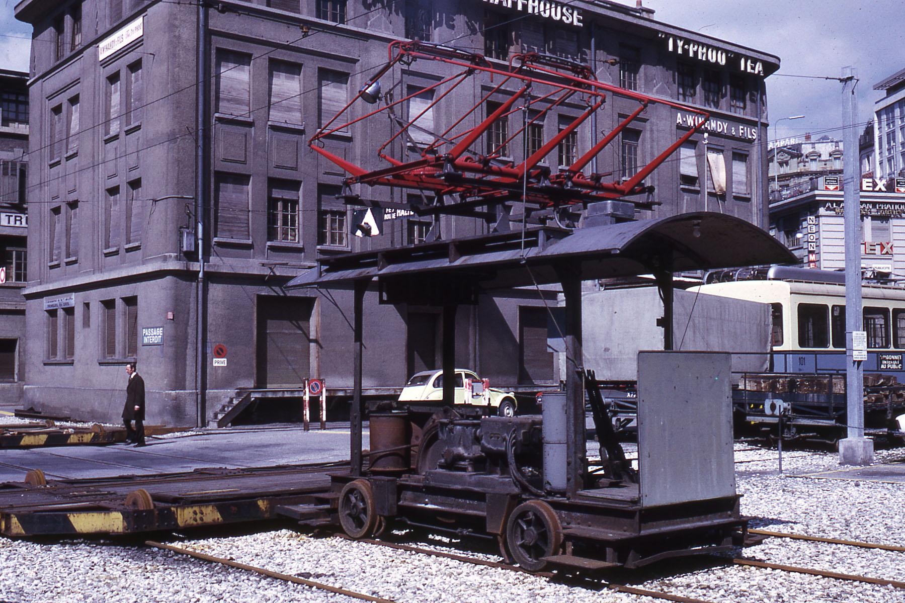Flon - Place de l'Europe vers 1970