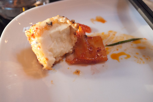Crispy Tofu with Sauteed Kimchi and Citrus Aioli @ Anju