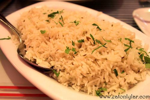 Pilau Rice, Restaurante Tamarind