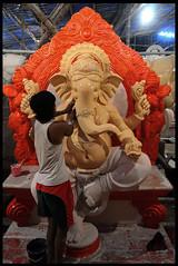 DSC_9764 (prashantshahane) Tags: workinprogress ganpati
