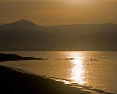 Ajaccio sunset (...coming back!) Tags: sunset france reflection beach silhouette evening corsica setting ajaccio settingsun