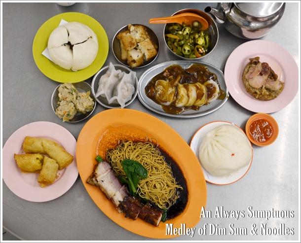 Sumptuous Medley of Dim Sum & Noodles