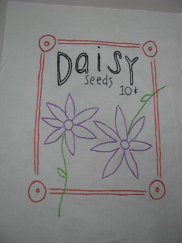 Daisy Seeds Block 1