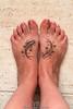 Photoshop pisces tattoo Tatuaje de Piscis.