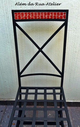 Cadeira com Mosaico