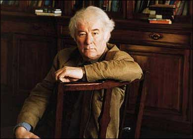 seamus heaney interview They don't call him 'famous seamus' for nothing - the nobel prize-winner has won the whitbread twice and sells more books in britain than any other living poet in a rare interview, seamus heaney talks to jenny mccartney about the crises - both personal and political - that still fire his work.