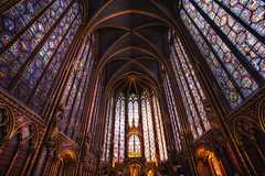 Sainte-Chapelle (TheFella) Tags: longexposure blue paris france building slr church glass architecture digital photoshop canon french eos gold photo high sainte europe ledefrance purple dynamic interior gothic royal chapel stainedglass stained holy photograph processing slowshutter 5d dslr range flamboyant chapelle hdr highdynamicrange saintechapelle markii postprocessing rpubliquefranaise capet photomatix frenchrepublic rayonnant rgionparisienne parisregion thefella 5dmarkii conormacneill capetian thefellaphotography palacekinglouis