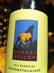 2010 Hungry Hollow Gewurztraminer